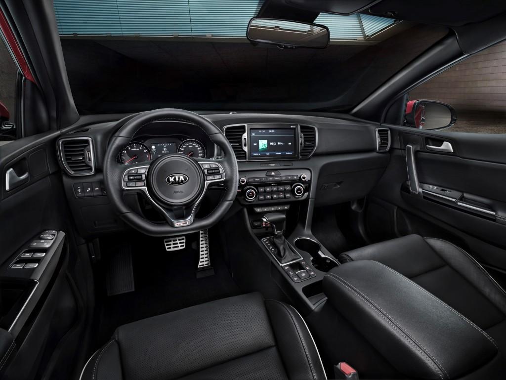 2016 sportage full specs interior revealed (2)