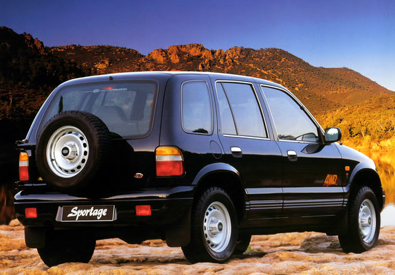 First generation kia sportage story the korean car blog for Kia motor company usa
