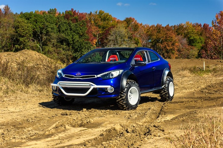 Kia Forte Koup Mud Bogger to Debut at SEMA