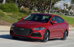 2017 Hyundai Elantra Sport rendered