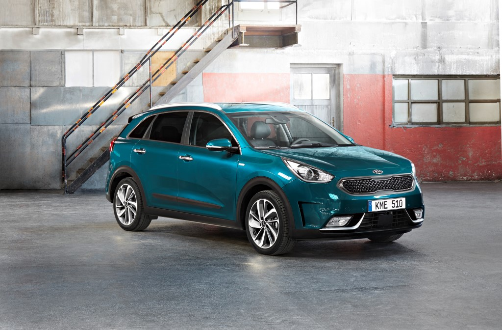 European Debut for New Kia Niro Hybrid Crossover - The ...