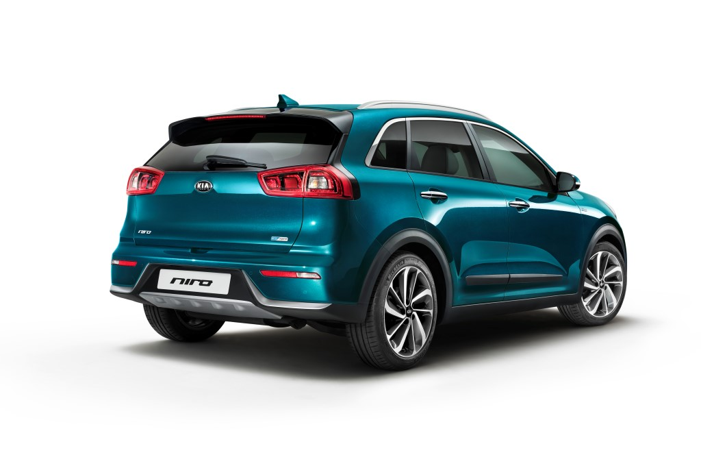european debut for new kia niro hybrid crossover the korean car blog. Black Bedroom Furniture Sets. Home Design Ideas