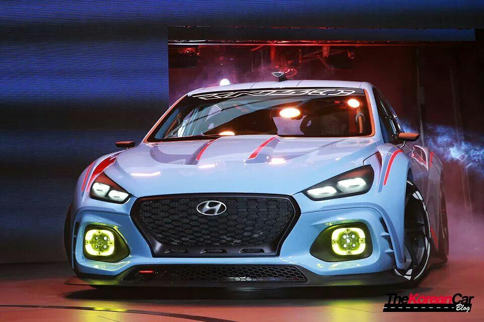 High Performance Hyundai N Concept Revealed At Paris Motor