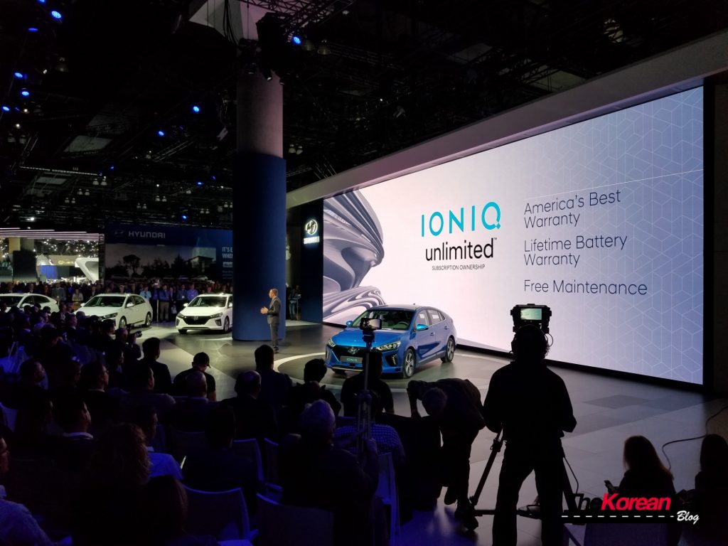 Ioniq Los Angeles Autoshow