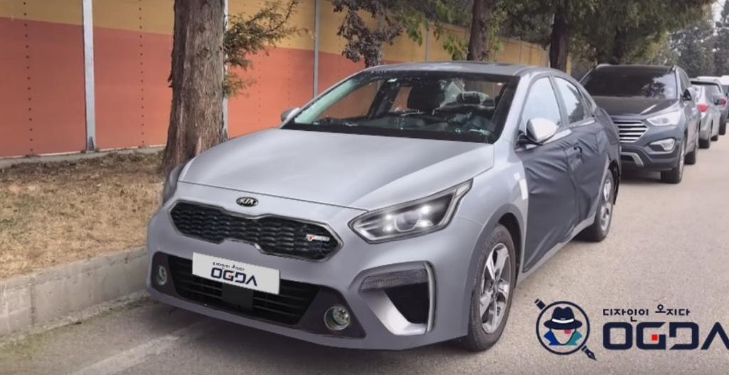 2019 Kia K3 Forte Spotted for the First Time - The Korean ...