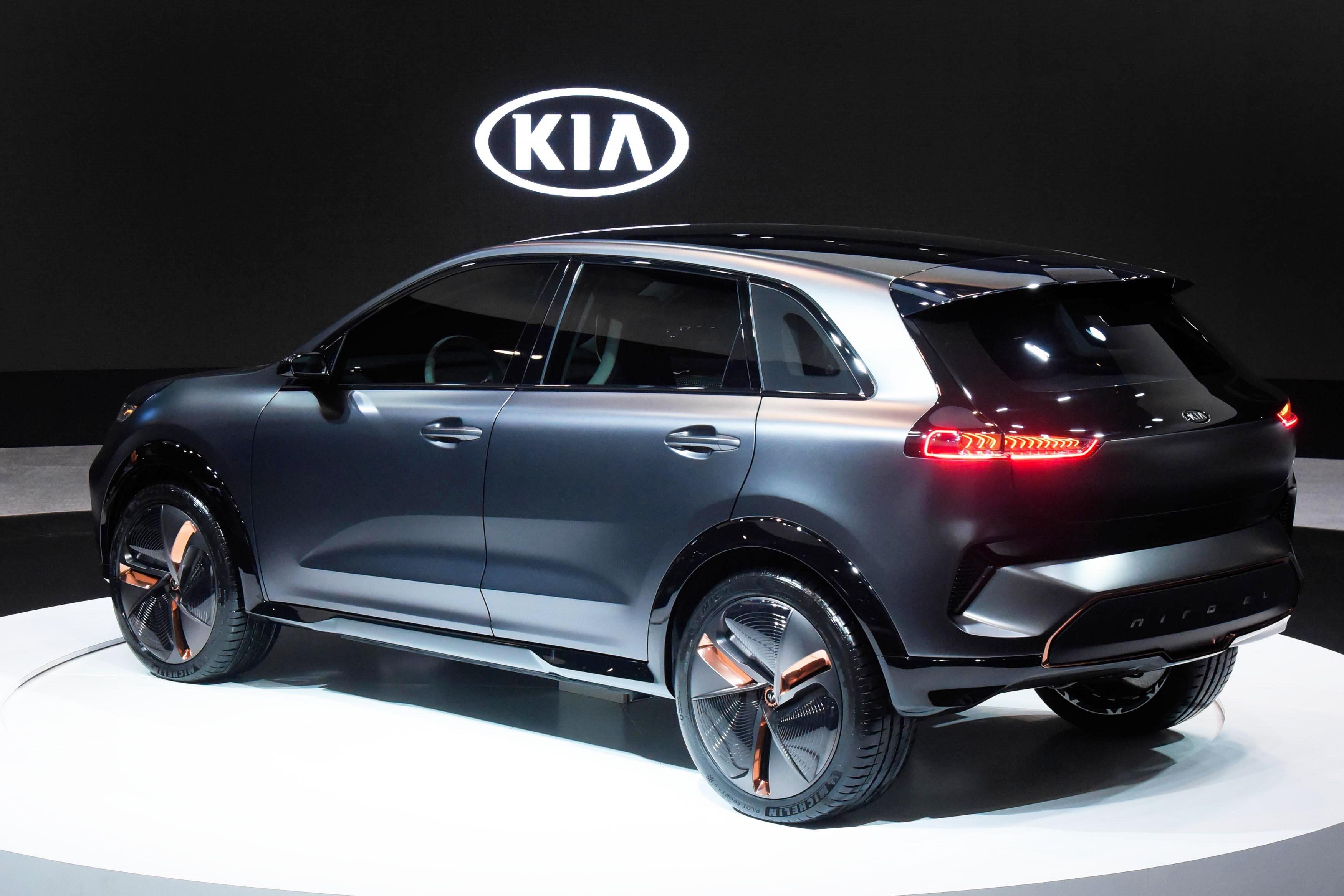 CES 2018: Kia Niro EV Concept - The Korean Car Blog