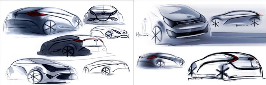 Kia Rio Design Story Exterior Korean Car Blog