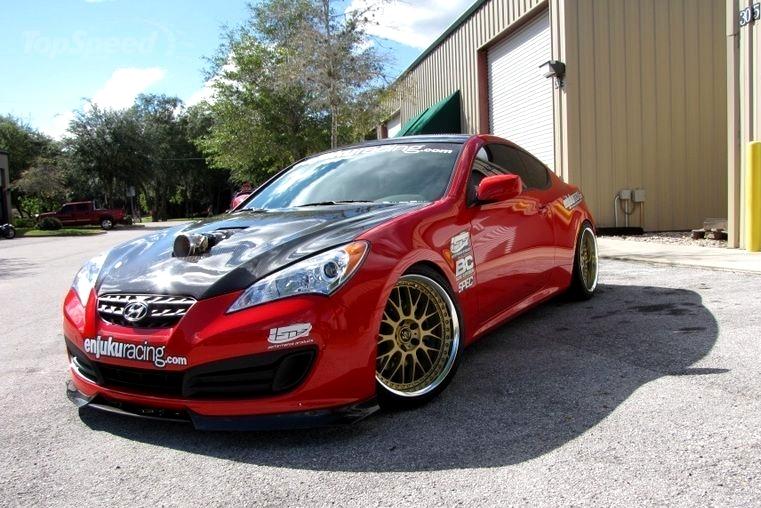 Enjuku Racing Genesis Coupe V8 Ls1 W Video