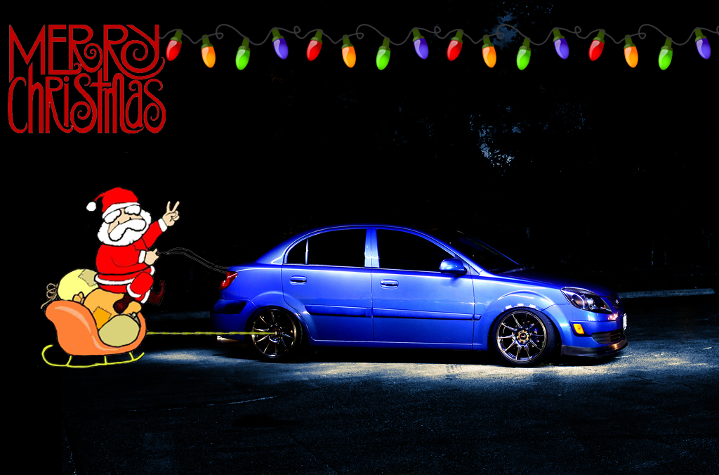Merry Chritsmass And Happy Holidays Korean Car Blog