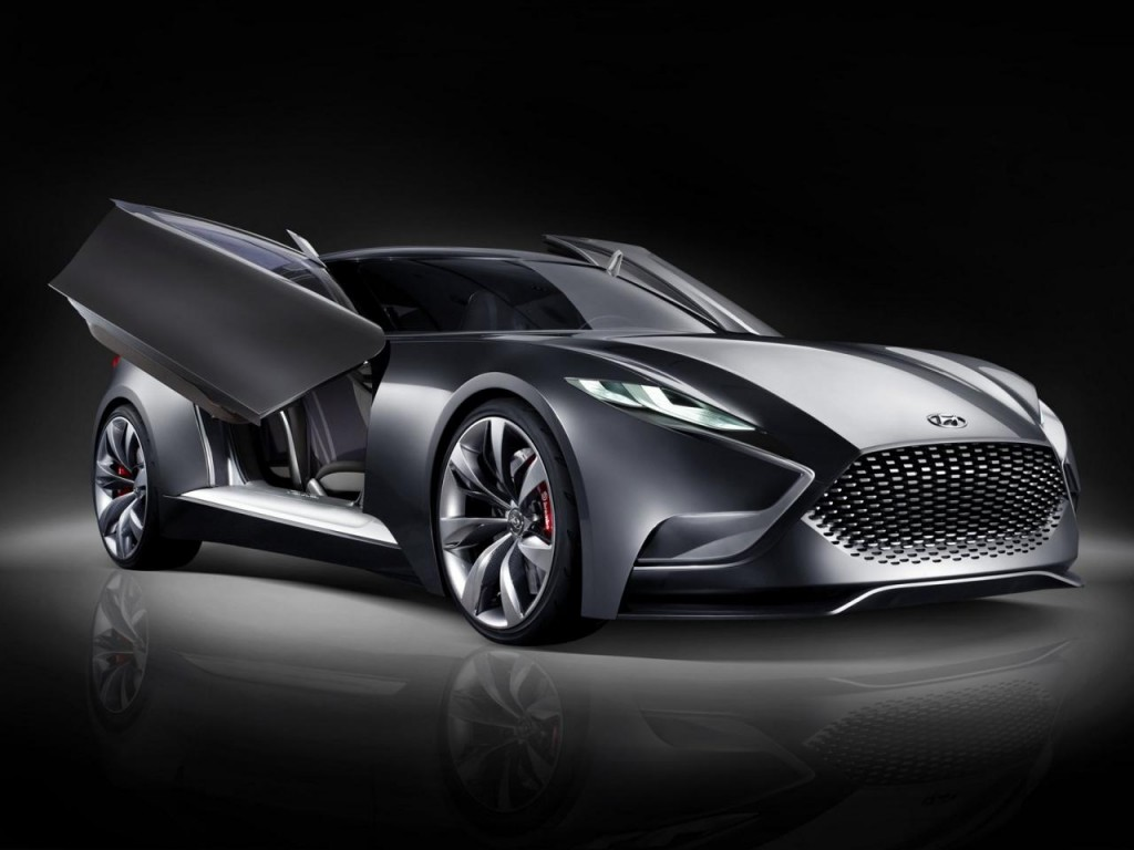 Hyundai Motor Unveils Images Of Its Luxury Sports Coupe Concept Hnd 9 Korean Car Blog