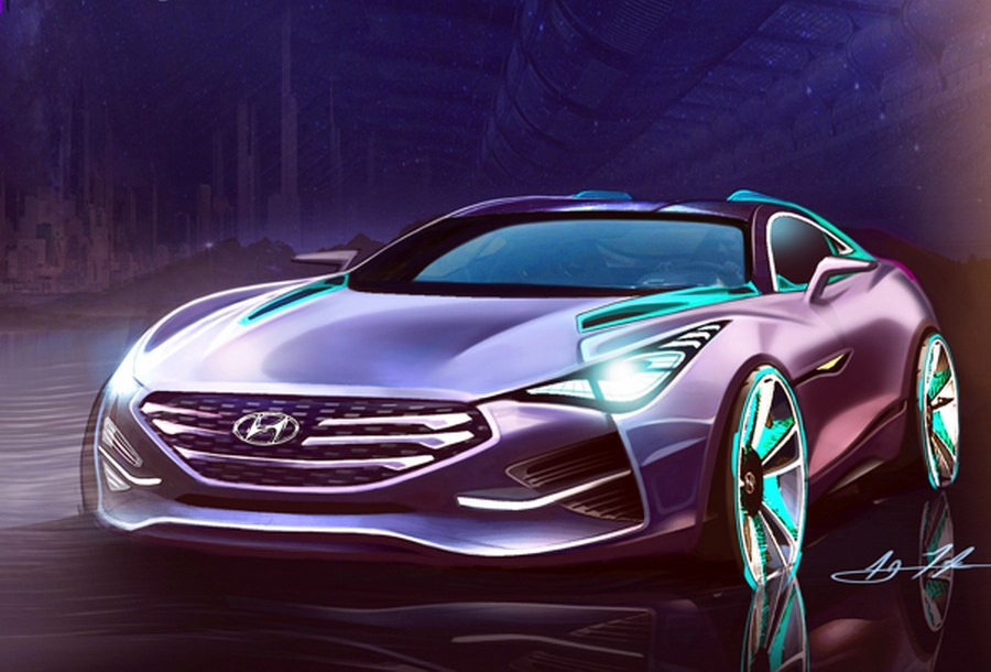 Hyundai I80 The Gt Sports Coupe Rendered By A Designer Korean Car