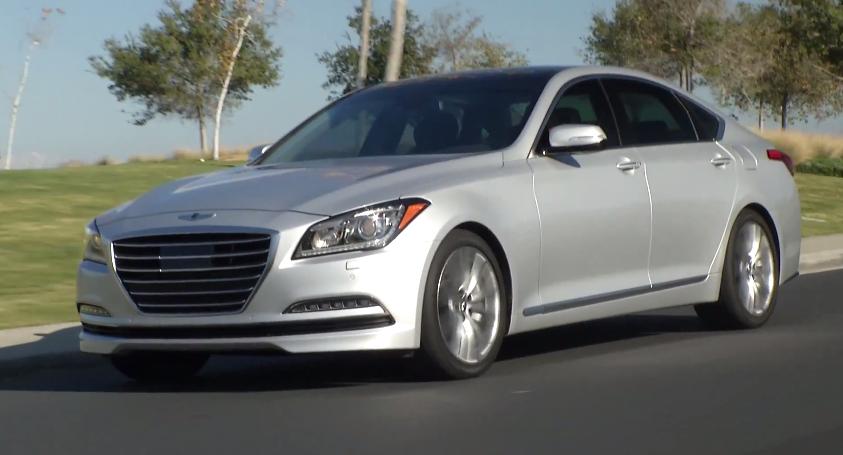 Video 2015 Hyundai Genesis Sedan Exterior And Interior Look