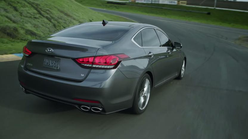 Video: 2015 Hyundai Genesis Performance at Sonoma Raceway