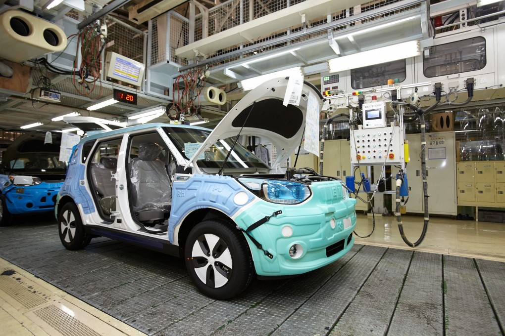 Start of export production for all-electric Kia Soul EV