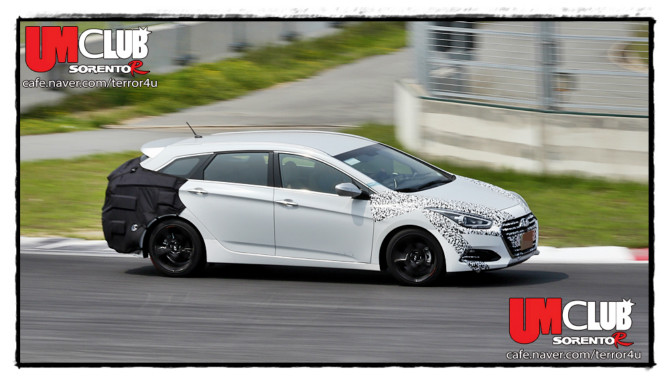 Scooped: Facelift Hyundai i40 Show New Front Grille & Headlights