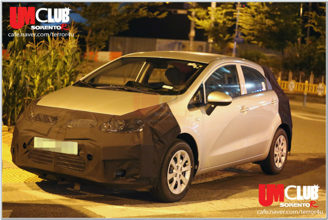 Scooped: Kia Rio Facelift Caught for the First Time