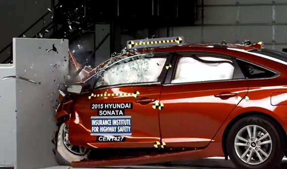 2015 Hyundai Sonata Awarded with Top Safety Pick+
