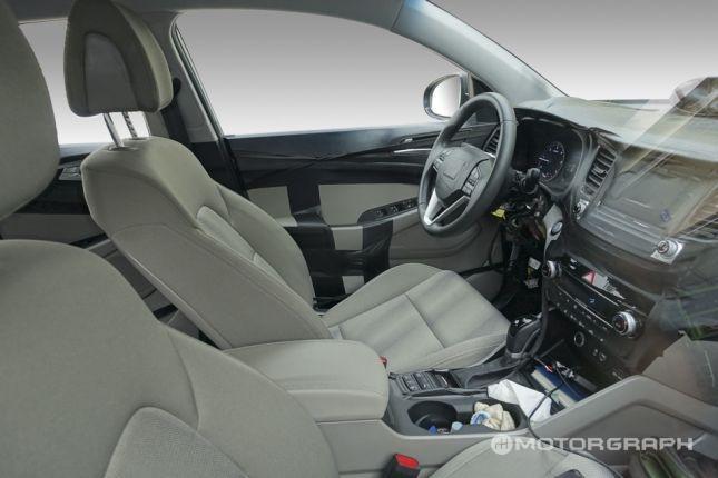 Scooped: 2016 Hyundai Tucson ix35 Interior Revealed