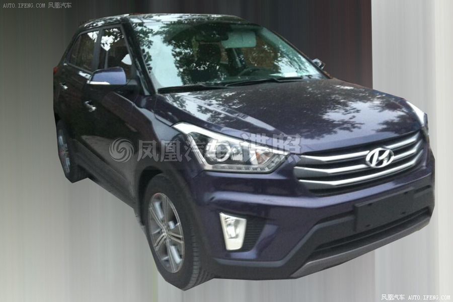 Scooped: Production Version Hyundai ix25 Caught Again in China