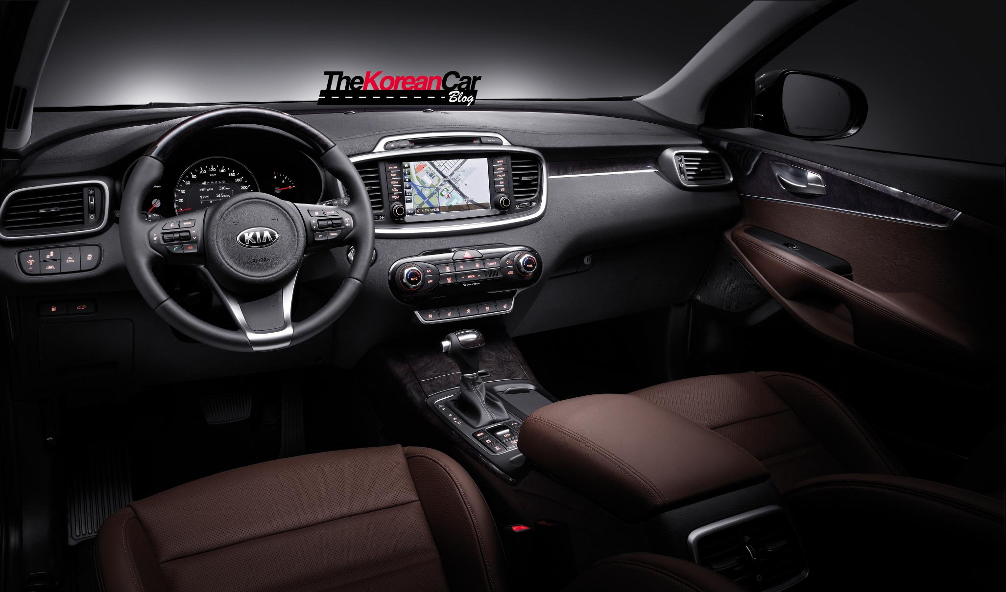 Exclusive: All-New Kia Sorento Interior Pictures Revealed