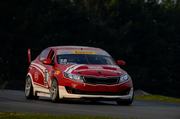 KIA Racing Extends Championship Lead Following Podium Performances In Rounds 11 And 12 At MID-OHIO Sports Car Course