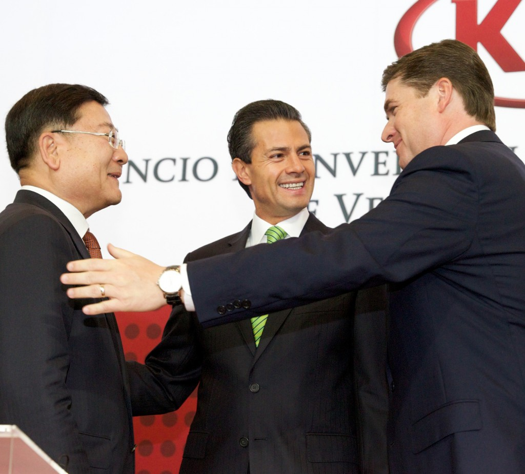 Kia Motors signs US$1 billion investment agreement for establishment of manufacturing plant in Mexico