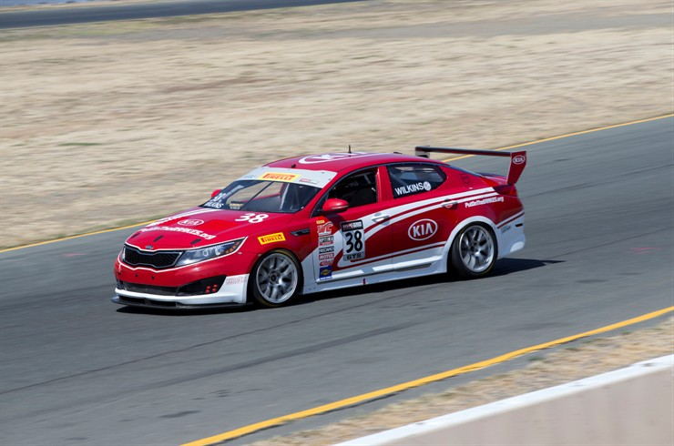 Kia Racing In Pirelli World Challenge Season Finale At Miller Motorsports Park