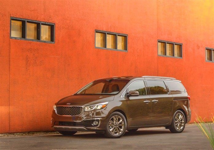 All Information & Pictures About the 2015 Kia Sedona for the US-Market