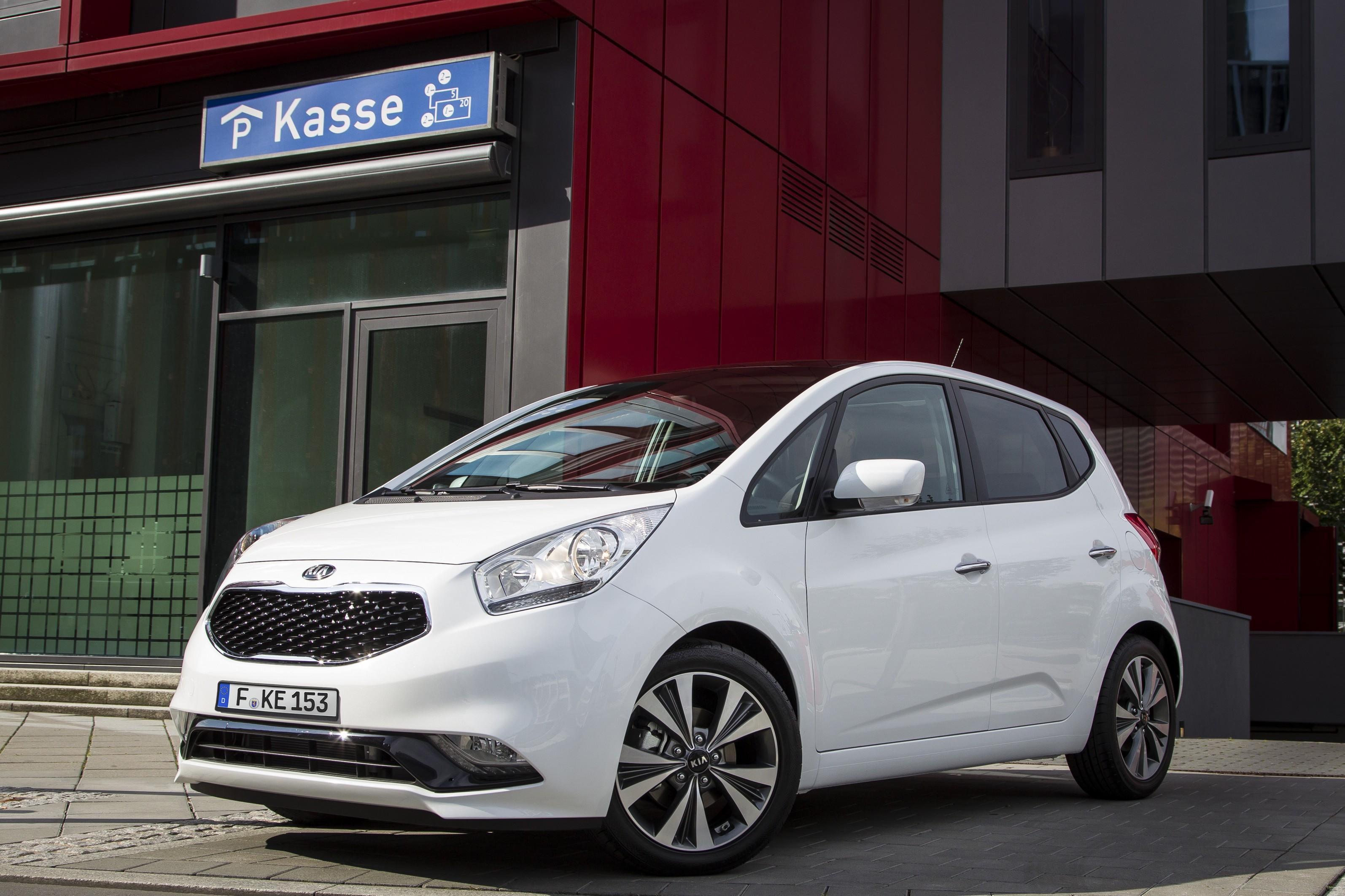Kia Revealed Venga Facelift Ahead Paris Motor Show