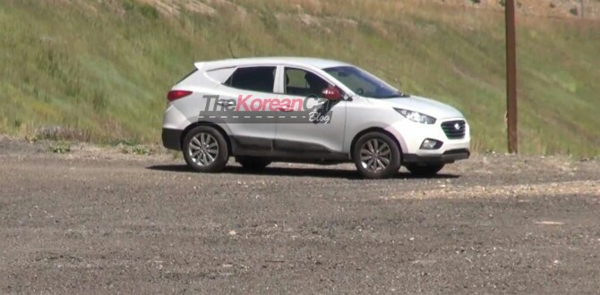 Scooped: Mysterious Hyundai Tucson Test Mule Spotted