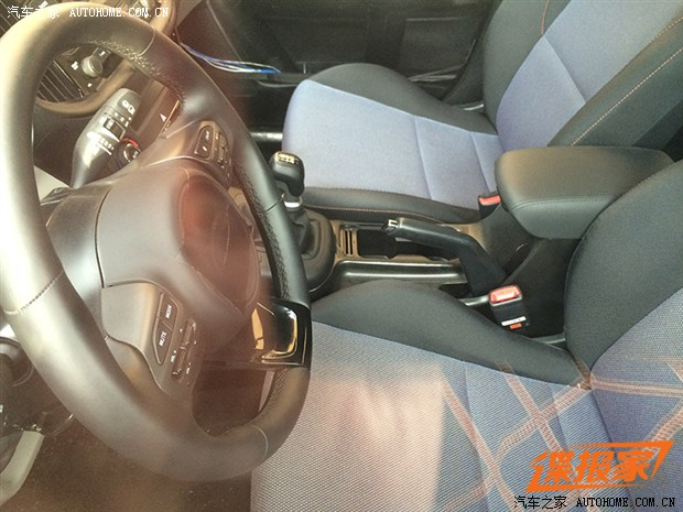 Kia Mini SUV Spotted in China with Undisguised Interior