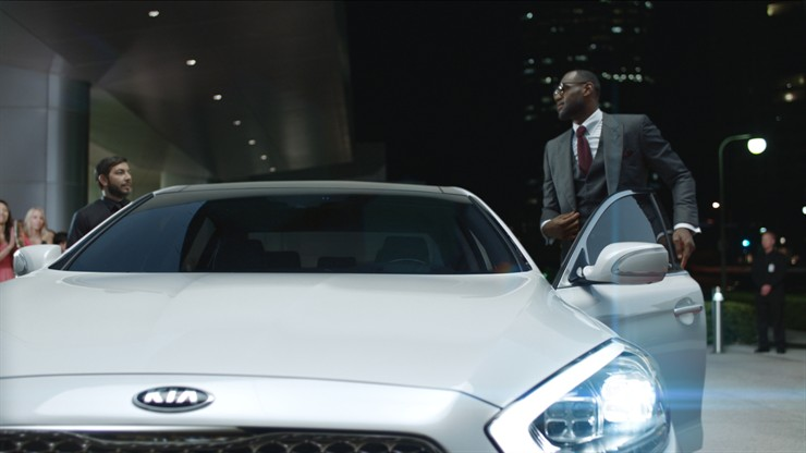 LeBron James Featured in New Kia K900 Ad Campaign