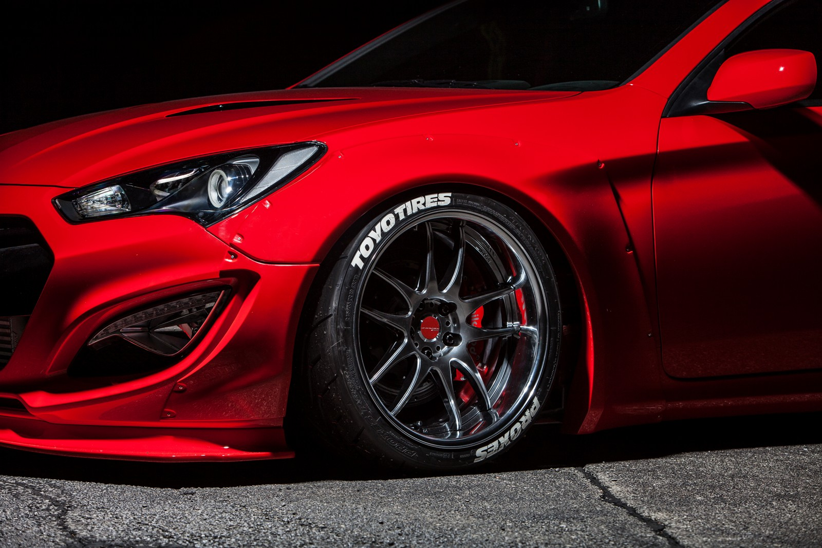 Hyundai Teams Up With Blood Type Racing to Debut Underground Racing Genesis at SEMA SHOW