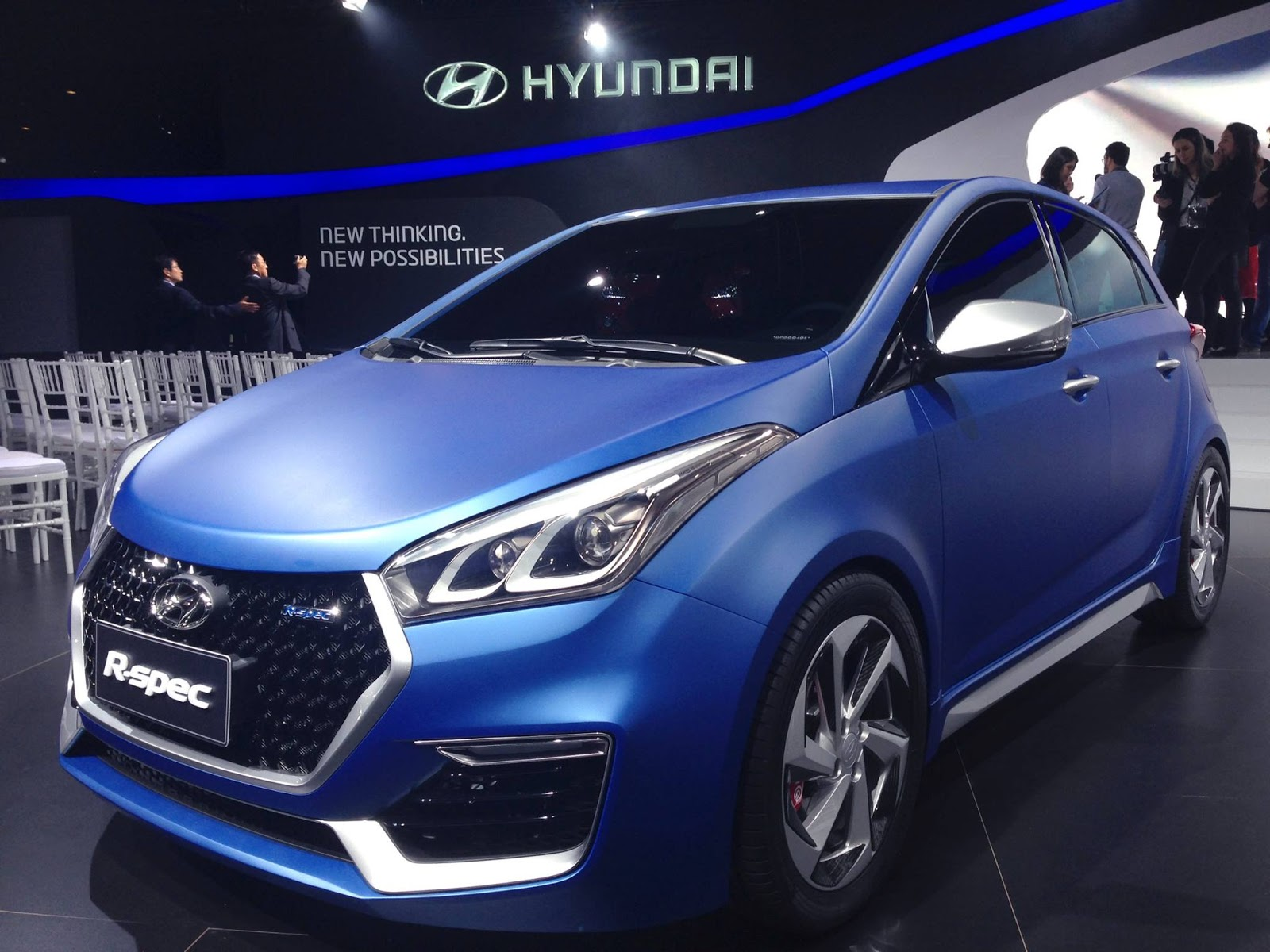 Hyundai Debuts HB20 R-Spec Concept Sporty Hatch at Sao Paulo Motor Show