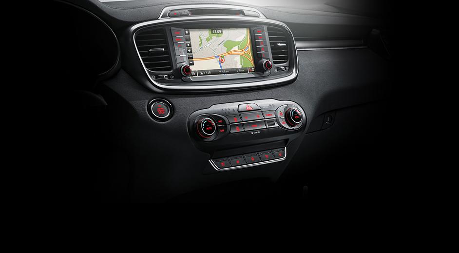 Kia Sorento Interior Avn Full Map Navigation Korean Car Blog