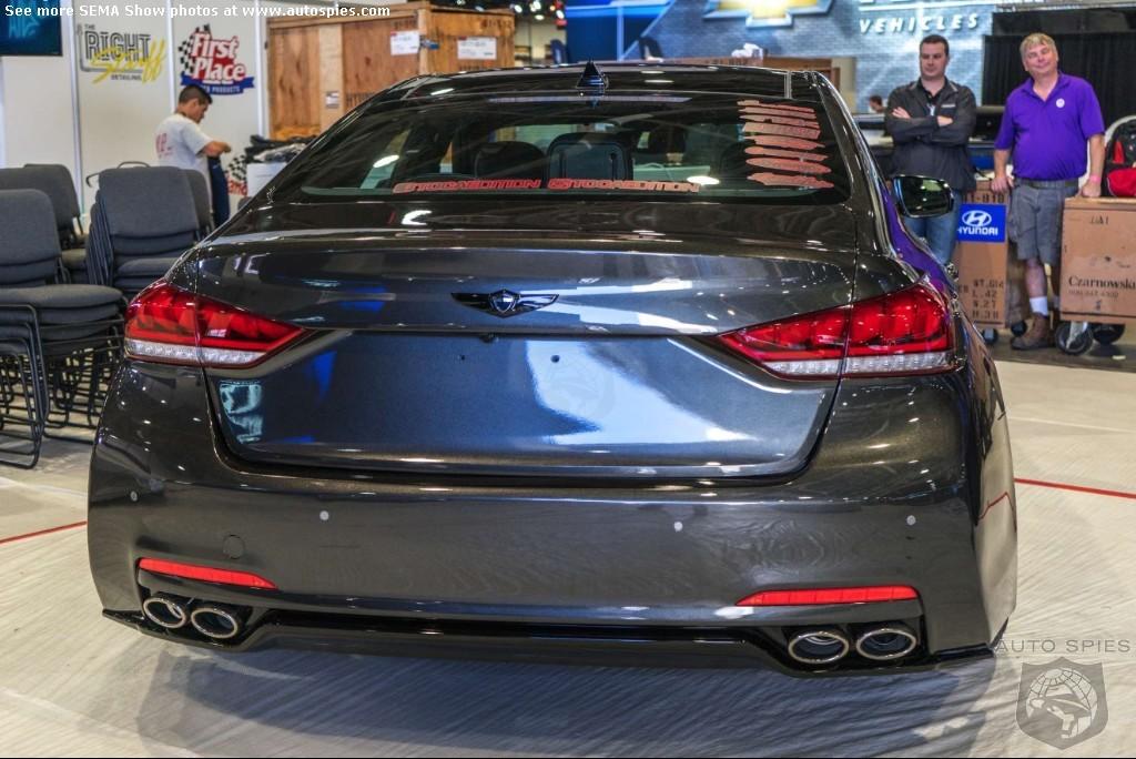 2014 SEMA SHOW: Toca Marketing Built a V8 Twin-Turbo 600hp Genesis