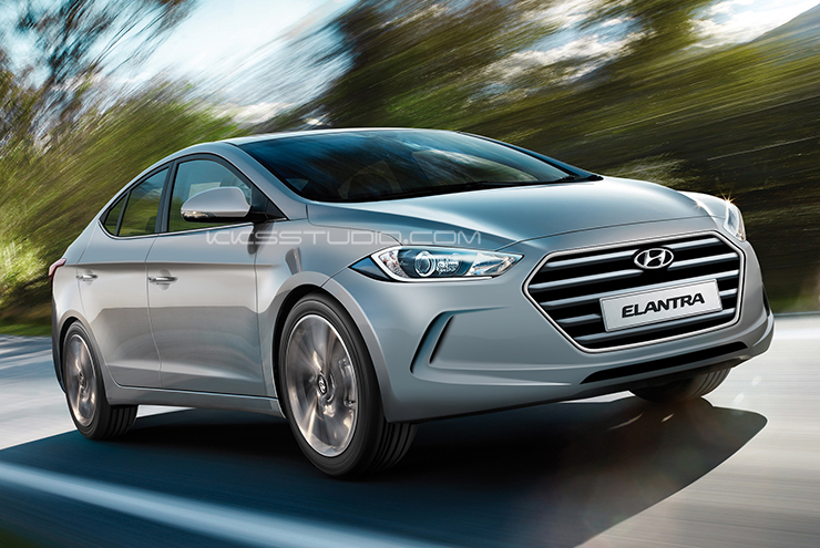 Render: How the Next Generation Hyundai Elantra Will Look