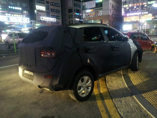 Scooped: Mysterious Kia Mini SUV Caught in South Korea