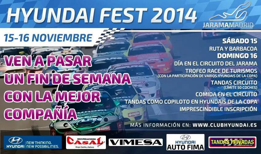 2014 Hyundai FEST KDM Meet in Madrid – Spain