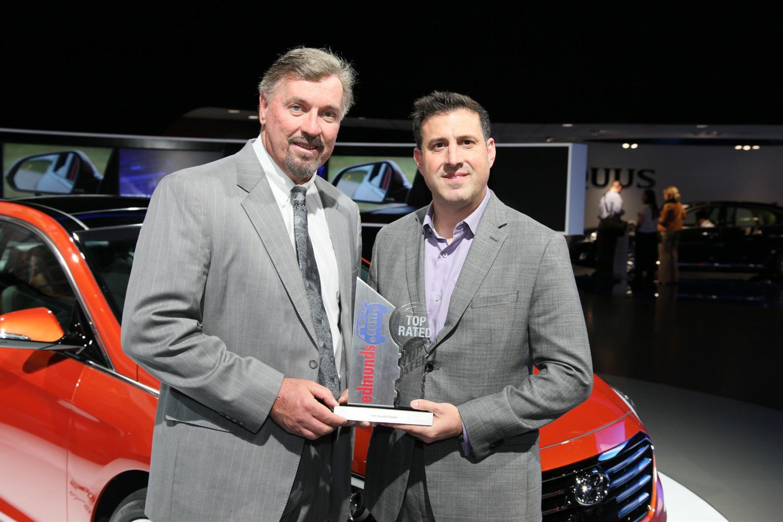 2015 Sonata Named Top Rated Sedan By Edmunds.com