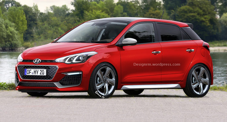 Render: The Future Hyundai i20 N Performance Hot Hatch