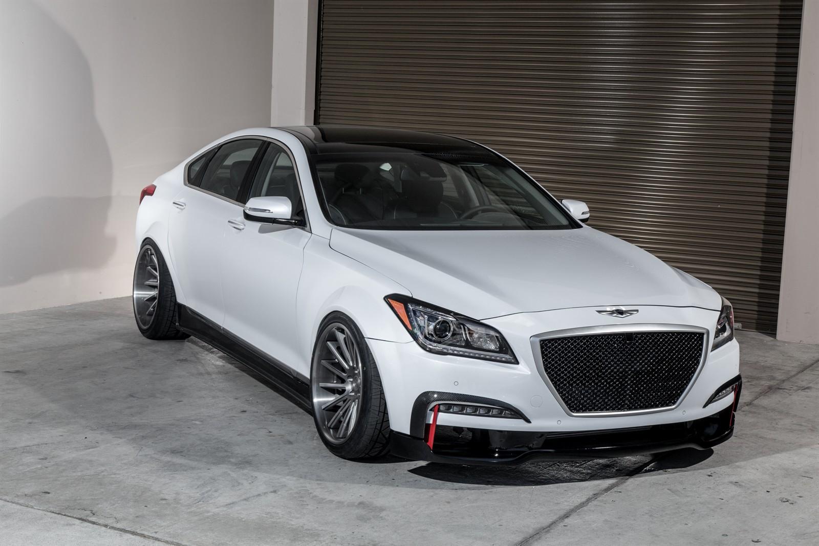 ARK Performance Puts Extra Performance & Luxury to the Genesis Sedan