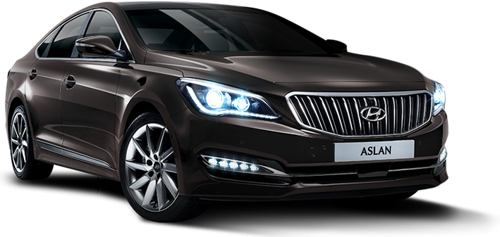Hyundai Launched Aslan FWD Luxury Sedan in South Korea