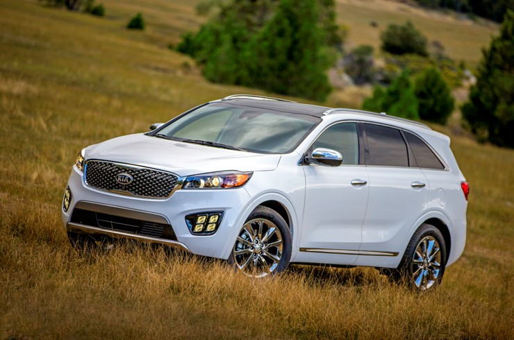 US-Spec 2016 Kia Sorento to Debut at Los Angeles AutoShow