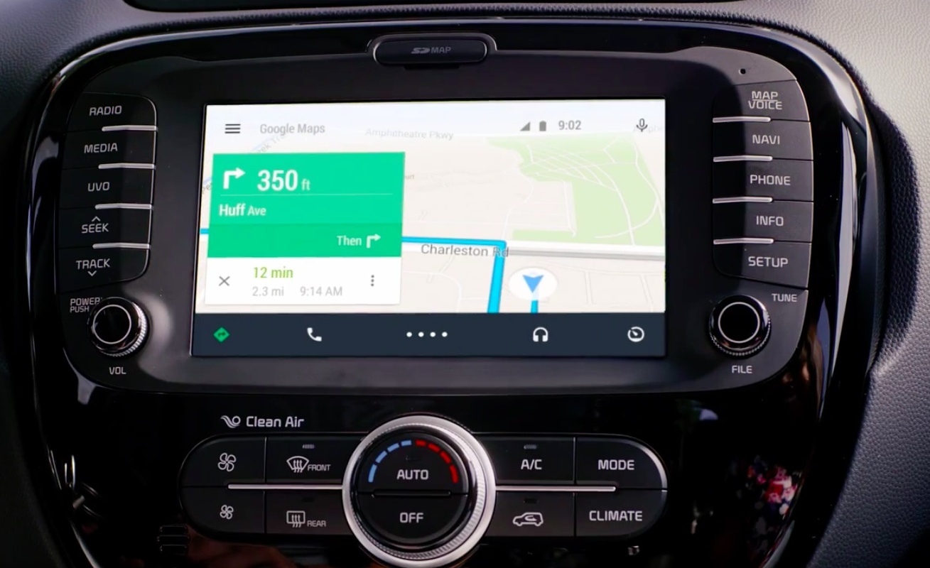 Video: Take a Look to Android Auto Preview in a Kia Soul