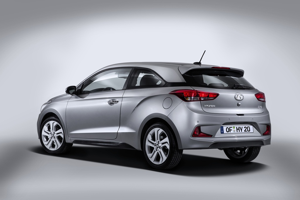 Hyundai Revealed New Generation i20 Coupe