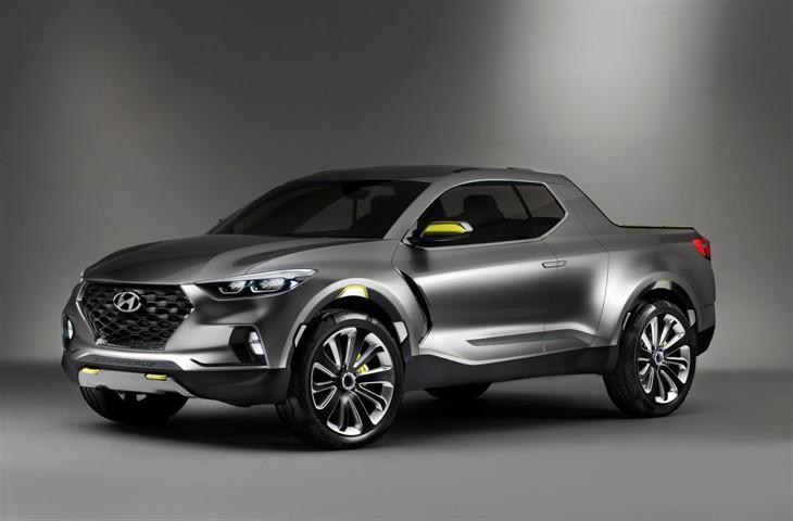Detroit 2015: Hyundai Launched Santa Cruz Concept Truck