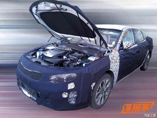 Next Generation Kia Optima Spotted Testing with a Turbo Engine
