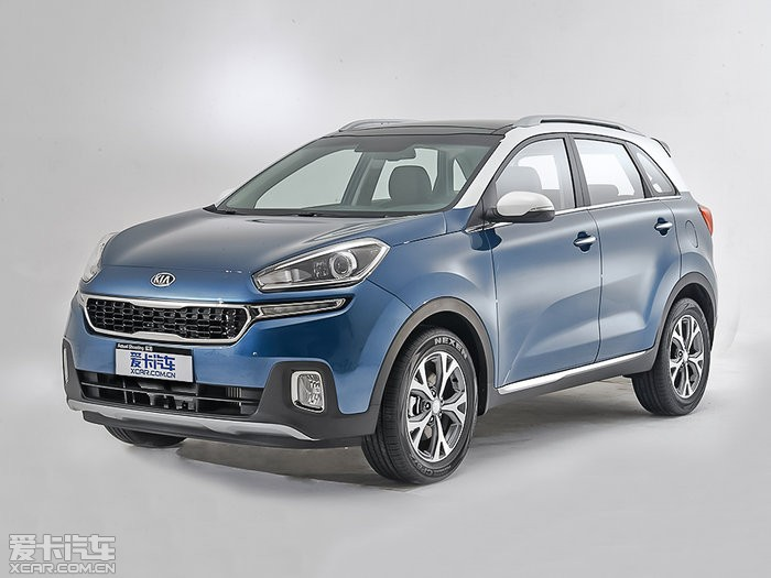 Kia Revealed First Official Pictures of China-only KX3 mini SUV