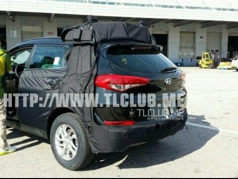 2016 Hyundai Tucson ix35 Spotted Undisguised, Interior Revealed
